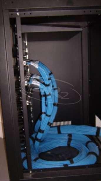 Foto: Projeto e execução de cabeamento estruturado