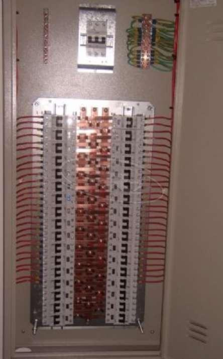 Quadro de distribuição AC